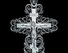 3D print model 77 RELIGION ICON CrossV1