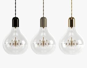 King Edison Pendant Lamps 3D