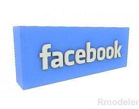 FaceBook 3d Logo