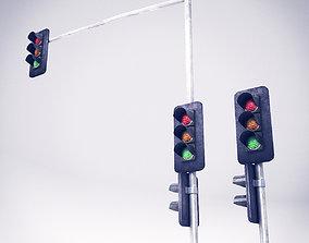 3D asset Traffic Lights