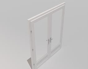 Double Door Glass 3D