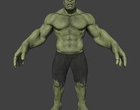 Hulk Model- Highpoly