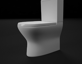 render ready vray toilet commode 05 3D
