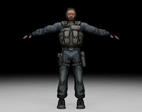 Stalker - Mercenary 04 3D asset