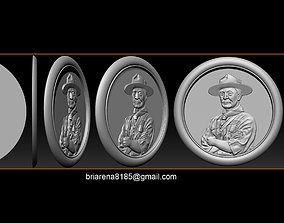 Lord Baden-Powell 3D printable model