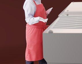 3D model Sarah 10147 - Standing Supermarket