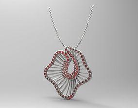 3D print model pandant 01