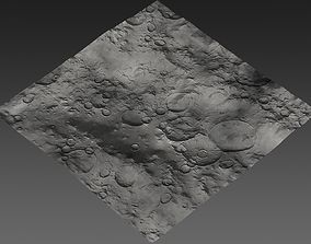 3D model Large-Scale Moon Environment - Plains