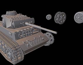 3D print model Tanks PzKpfw III Ausf L SdKfz141
