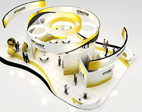 Exhibition Stand 20x12 3D