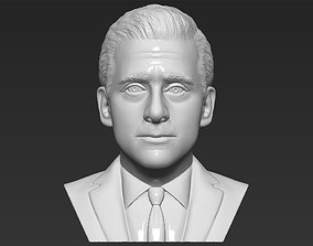 Michael Scott The Office bust 3D printing ready stl obj 1