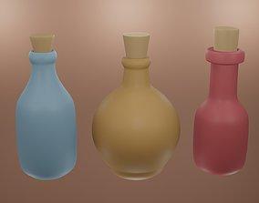 3D model Potion bottle 3