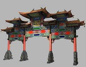 3D model China ancient torii 5