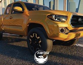 3D asset Toyota Tacoma TRD Off-Road 2016