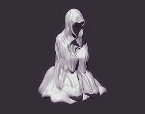 3D print model Praying Monk