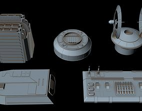 3D Starship Greeble collection 6