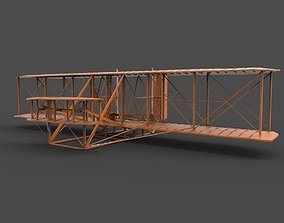Wright Brothers Flyer 3d