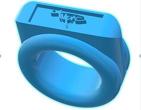 rings 2pac signature 3d printable ring