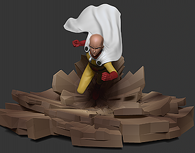 ONE PUNCH-MAN Saitama 3D printable model