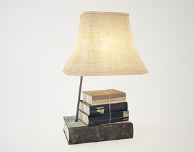 3D MDF Lamp with Books