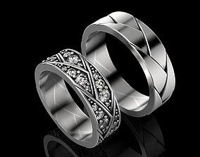 3D printable model Wedding Ring fashion