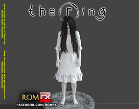 Samara The Ring - Horror Figure Printable