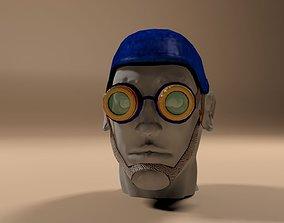 3D asset Custom Head Gear