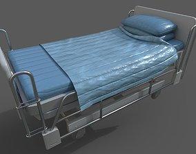 Hospital Bed 3D model realtime