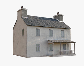 Irish house 3D asset