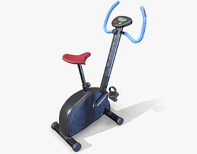 3D model Workout Bike lowpoly