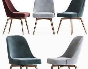 3D Mid Century Office Chair Westelm