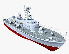 3D model Vaspa Class Torpedo Boat