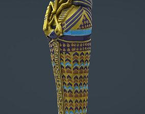 3D asset King Tutankhamun sarcophagus