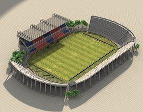 Stadium - Athletic Club San Lorenzo de Almagro 3D asset