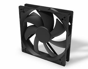 3D print model CPU FAN 120MM STANDARD