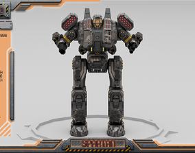 Spartan BattleMech 3D model
