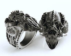 3D print model Viking ring man