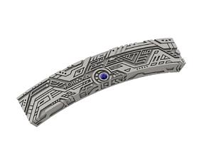 Techno style bracelet 3D printable model