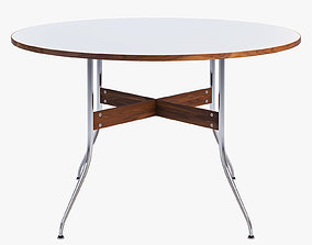 3D Nelson Swag Leg Round Dining Table