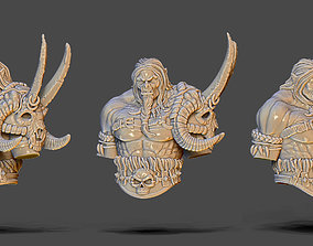 Orc bust - 75mm 3D printable model