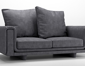 leather 3D roche bobois underline sofa