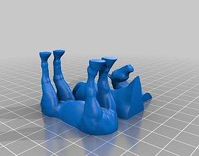 FDM ready Split Horse 3D printable model