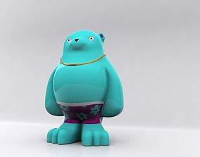 bear character max 3D