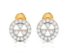 Women earrings 3dm render detail jewellery