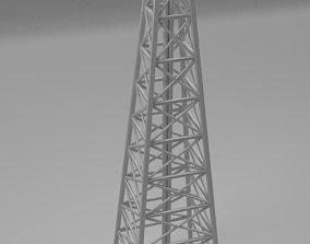 3D model belfry Tower