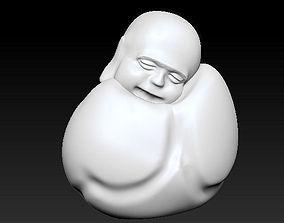 3D printable model To sleep sitting up Laughing Buddha