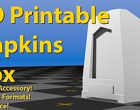 Napkin Box - 3D Printable