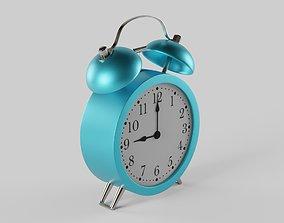 Alarm Clock 3D model realtime PBR