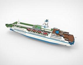 MV Astoria cruise ship 3D