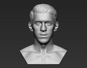 Michael Phelps bust 3D printing ready stl obj